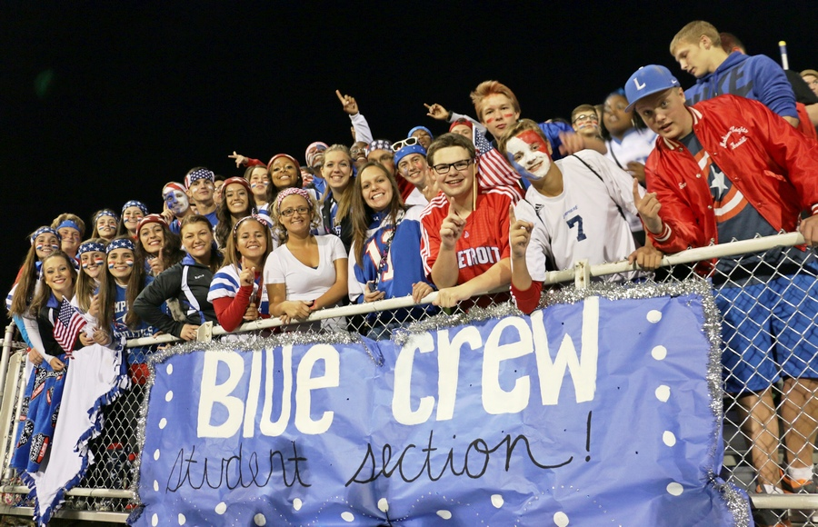 LHS Blue Crew Rocks!