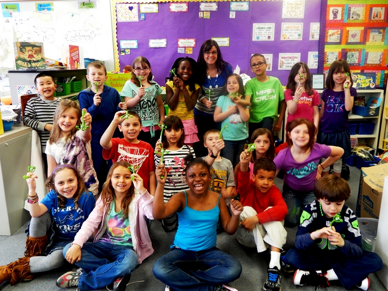Second Graders are above the influence!